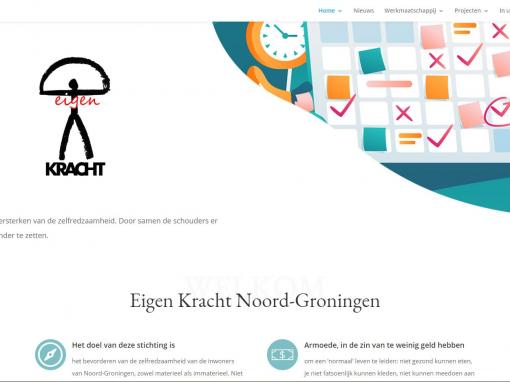 Website stg. Eigen Kracht Noord-Groningen