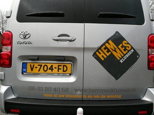 Hemmes Klussen – website & huisstijl